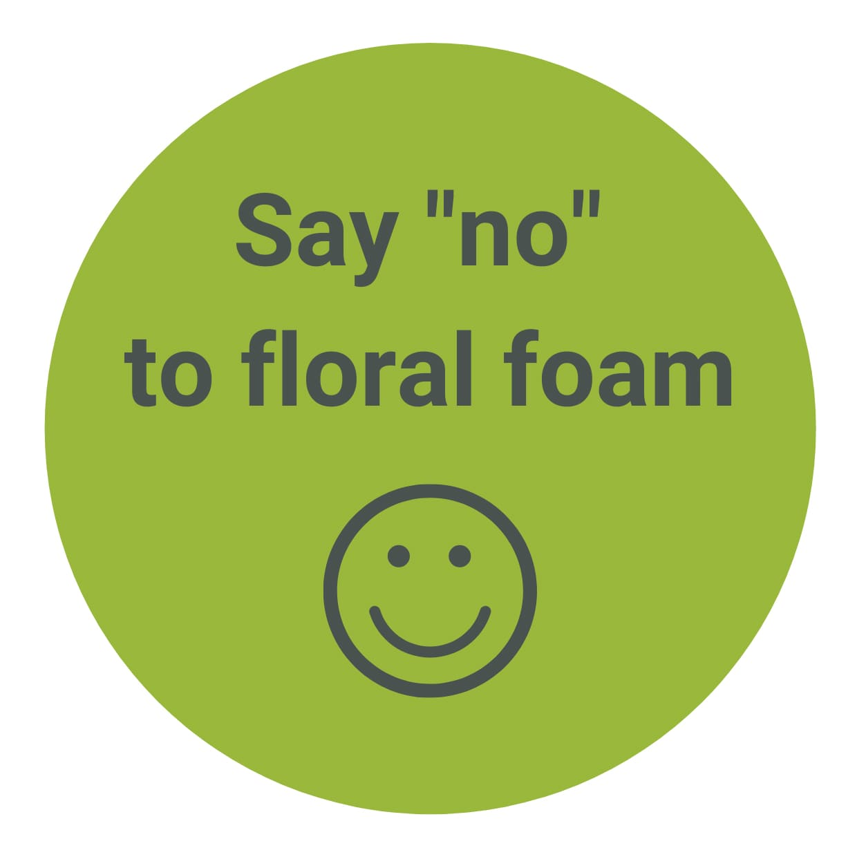 Say NO to Floral Foam